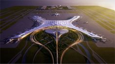 Dalian Airport Terminal Competition, Corgan, Dalian, China (7,300,000 square feet): The terminal's design aims to meet the needs of passengers while creating a unique experience. The flow-based, na…