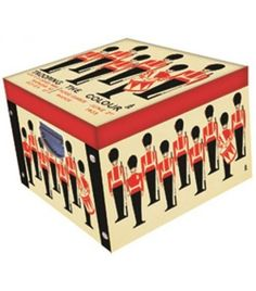 Trooping The Colour Large Collapsible Storage Box - Storage Boxes - Stationery Decorative Storage Boxes, Wimpy Kid, Troops, Toy Chest, Storage Chest, Stationery, Colour, Home Decor, Stationeries