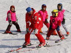 Skikurse für Kinder im Ahrntal - Deine Kinder lernen bei eigens ausgebildeten Skilehrern die Technik und das richtige Verhalten auf der Piste. www.klausberg.it