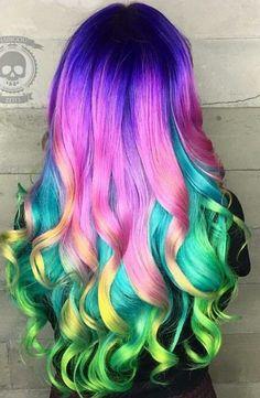 Multi - Tono ideas de color de pelo para utilizar en 2016 - Moda Espanola
