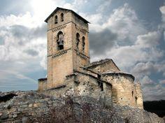 MONTAÑANA (Huesca). Conjunto  Histórico Artístico (1974). Iglesia de Nuestra Señora de Baldós (sXII-XV).
