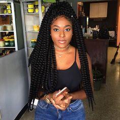Crochet Hairstyles ombre crochet braids with apricot castor oil Crochet Braids Thenubiancrown Black Hairstyles Pinterest Crochet Braid And Crochet