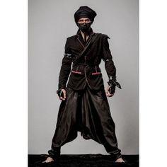 Moxos - czarna marynarka męska