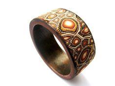 polymer clay bracelet | Flickr - Photo Sharing!
