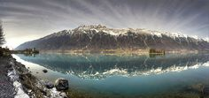 HDR Panorama Iseltwald by Brienzersee... (Explored) by Hans Kool