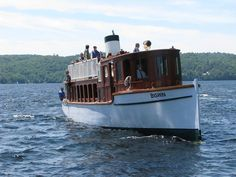 SS Bigwin on Lake of Bays, Muskoka  Touring Trading Bay June 13, 2013... This is a FAB boat restoration project. Check out my post about it ... http://roadstories.ca/bigwin-steamboat/