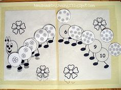 File folders are great for Autistic kids - defined activity with a start and finish