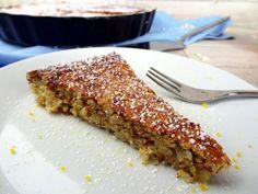 Schneller Reiskuchen mit Orange und Mandel, ein Kuchen ohne Fett und ohne Mehl! Rezept von applethree.de