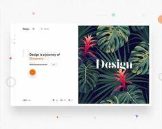 15 Web Design Trends in 2018 Bonus) – Muzli -Design Inspiration Web Design Trends, Site Web Design, Design Ios, Graphic Design, Dashboard Design, Blog Design, Wireframe, Typography Inspiration, Web Design Inspiration