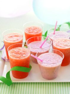 Healthy Drinks for Children .