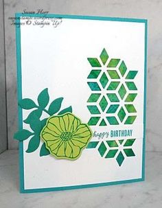 A Glossy Cardstock Stamp Off Challenge