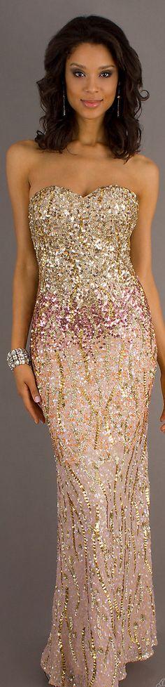 Formal long dress #strapless #sexy #glitter    http://desiactressespics.blogspot.com/?view=mosaic