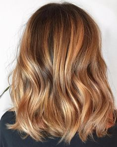 Golden Blonde Balayage for Straight Hair - Honey Blonde Hair Inspiration - The Trending Hairstyle Blonde Balayage Honey, Copper Blonde Hair, Balayage Hair Caramel, Honey Blonde Hair, Brunette Hair, Honey Caramel Hair Color, Warm Blonde Highlights, Red Blonde Brown Hair, Golden Copper Hair