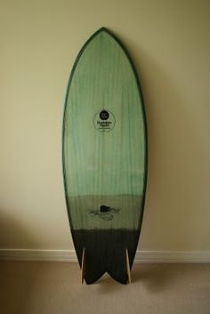 "Siebert Woodcraft Surfboards / Hollow Wooden Surfboards: 5'8"" fish"