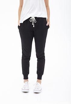 Drawstring Pocket Sweatpants   FOREVER 21 - 2000102470