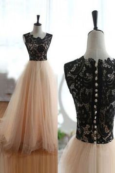Tulle Prom Dress#TullePromDress Lace Prom Dress#LacePromDress Charming Prom Dress#CharmingPromDress Long Prom Dress#LongPromDress