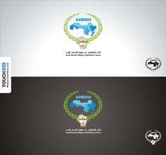 #شعار اتحاد المدافعين عن حقوق الانسان العرب  arab human rights defenders union #logo
