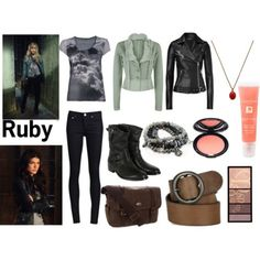 Supernatural-Ruby Supernatural Merchandise, Supernatural Outfits, Supernatural Cosplay, Nerdy Baby Clothes, Next Clothes, Pretty Outfits, Chic Outfits, Fashion Outfits, Fashion Tips