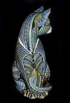 Moggie - by David Burnham Smith - Master Ceramic Artist