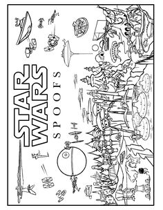 Star Wars coloring pages | Chillins | Pinterest | Star, Adult ...