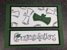 Stampin' Up Handmade Graduation Card by CheleMarieCreations