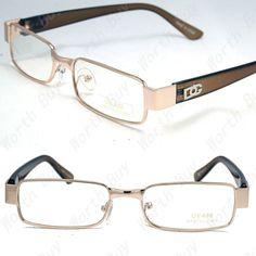 add4d0a58d New Mens Womens DG Clear Lens Frame EyeGlasses Rectangular Designer Fashion  Nerd  fashion  clothing