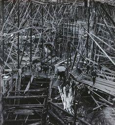 Bygget av Gullspångs kraftverk fotograferat 1907. Kraftverket började byggas 1906 och stod klart 1908. The #construction of the Gullspång #hydroplant photographed in 1907. Construction began in 1906 and the plant was completed in 1908.