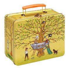 old school lunch box by Belle & Boo