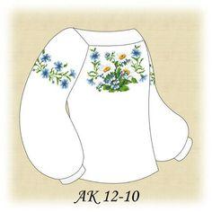 Заготовка к вышиванке детской Ромашки АК 12-10 Д