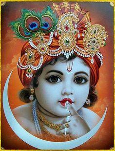 Lord Krishna in Childhood...Kanha