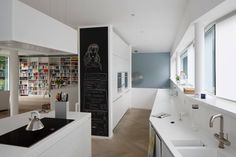 Contemporary single family residence located in Köln, Germany, designed by Falke Architekten. Kitchen Dining, Dining Rooms, Bathtub, Contemporary, Interior Design, Cool Stuff, House, Inspiration, Home Decor