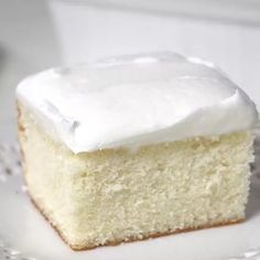 Ever had a craving for a perfectly delicious White Cake? Then you have to try this recipe!