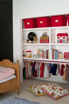 Hang Ups: Storage Solutions for Kids Rooms Without a Closet