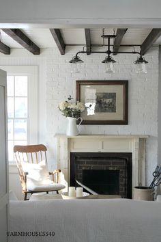 FARMHOUSE5540 Renovating, decorating and creating in an 1867 Pennsylvania farmhouse.