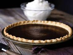 PHOTO: Michael Symons chocolate pumpkin pie is shown here.