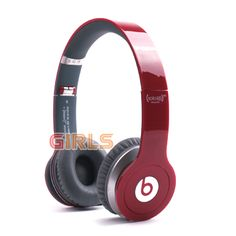 Monster Beats By Dr Dre Rose Red Solo HD Headphones http://youtu.be/MXmRdcA6mD