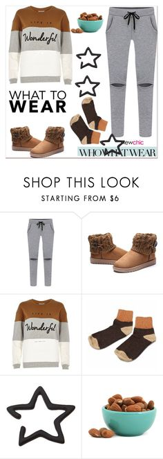 """What to Wear: Netflix Binge"" by paculi ❤ liked on Polyvore featuring Who What Wear, River Island, Dot & Bo and WhatToWear"