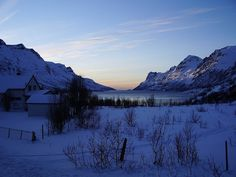 Ersfjord, near Tromso, Norway.