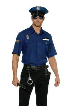 """Costume or reality? You decide behind closed doors. """"Please come with me."""" Police Officer Uniform"""