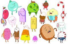 Refrigerator Magnet Adventure Time Princess Bubblegum Candy People Unite NEW