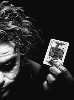 The Joker alias Heath Ledger in Batman - The Dark Knight Joker Batman, Heath Ledger Joker, Batman Art, Superman, Der Joker, Joker Und Harley Quinn, Dossier Photo, Univers Dc, Le Clown