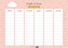 calendrier 2016 jolie | DIY: joli planning pour jolie rentrée • - Deco Trendy • A T E L I ...