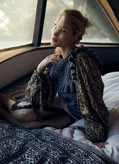 Harper's Bazaar Australia June 2018 Rosie Huntington-Whiteley by Darren McDonald