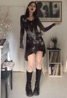 Edgy Outfits, Grunge Outfits, Pretty Outfits, Cool Outfits, Fashion Outfits, Alternative Outfits, Alternative Fashion, Mode Harajuku, Swagg