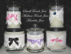 More embellished candles-suitable for any occasion.  https://www.facebook.com/PerreLaneCandles