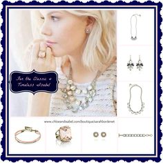 From our new Spring Capsule Collection, pieces for the elegant and timeless Isabel. Shop this look and many more at www.chloeandisabel.com/boutique/sarahbordenet