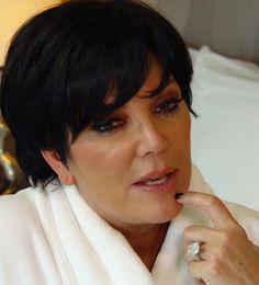 Kris Jenner Engagement Ring #celebrityweddings #richandfamous #jevelweddingplanning