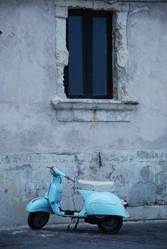 Mi soñado paseo en vespa por Italia