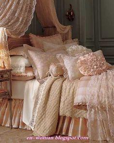 Blush Bed3 Boudoir splendido letto in stile parigino