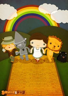 The Wonderful Wizard of Oz by SquidandPig www.squidandpig.com